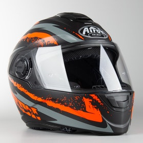 Kask Airoh ST 301 Logo Pomarańczowy Mat