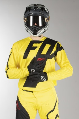 Fox 180 Mastar MX Jersey Yellow MX 18