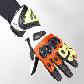 Handsker Alpinestars Supertech 2 Sort-Hvid-Rød-Fluo