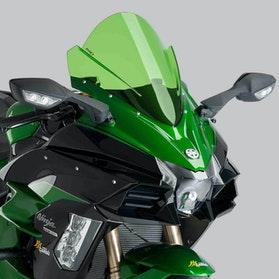 Owiewka Puig Racing Kawasaki Zielona