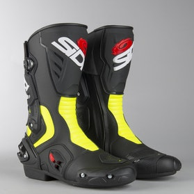 Buty Motocyklowe Sidi Vertigo 2 Czarno-Żółto-Neonowe
