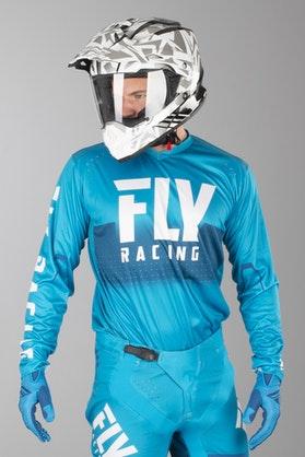 Bluza Cross FLY Light Niebiesko-Biała