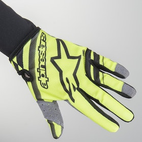 Crosshandsker Alpinestars Radar Junior, Sort/Gul