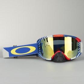Gogle Cross Oakley Mayhem Pro Heritage Racer Pomarańczowe