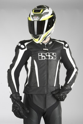 IXS Sport LD RS-1000 Jacket Black-White