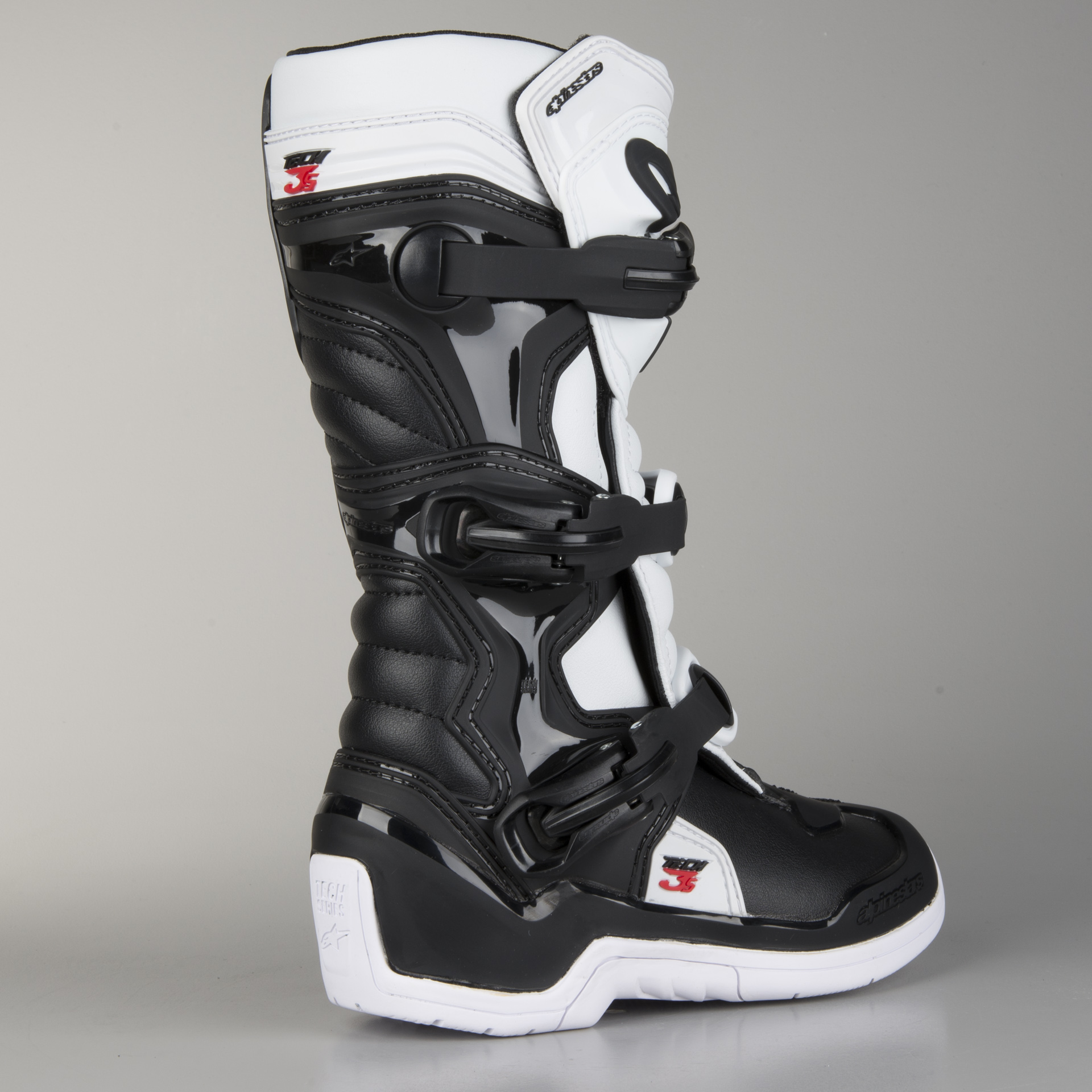 Alpinestars Youth Tech 3 Boots Black White
