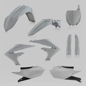 Acerbis Complete Plastic Kit Grey
