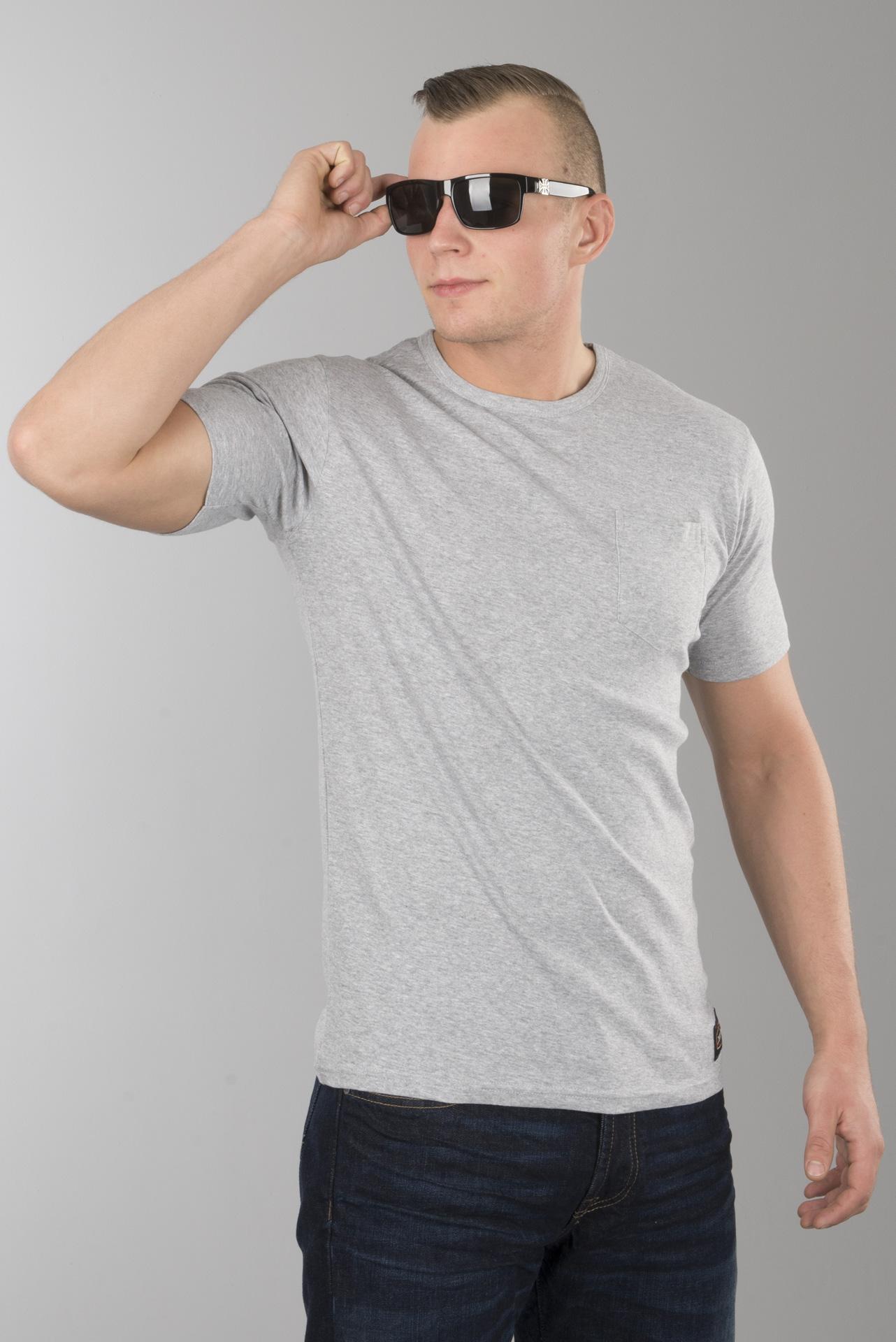 T Skjorte Macna Dazzle Logo Grå Svart Gul Nå 21% Du sparer