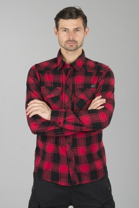 Koszula Brandit Czerwono-Czarna