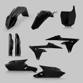 Komplet Plastikkit Acerbis Yamaha, Sort
