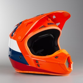 Kask Cross Shift Whit3 Tarmac ECE Pomarańczowy MX 17