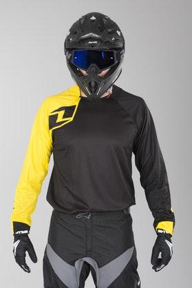 Bluza cross OneIndustries Vapor Solid Czarny-Żółty