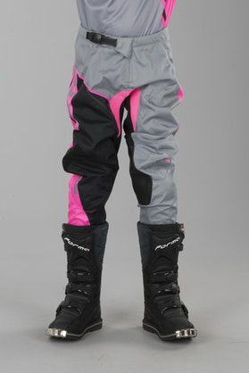 Alias A2 Burst Children's MX Pants Grey-Pink