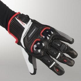 Rękawice Garibaldi Carbotech Czarno-Czerwone