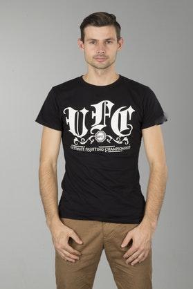 T-Shirt UFC Streetwise Czarny Dziecięcy