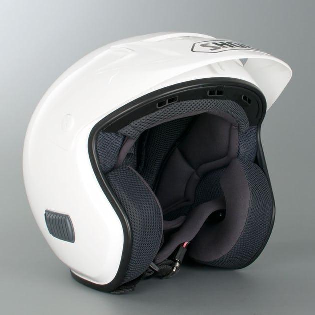 Shoei TR-3 Plain Helmet White