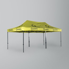 XLMOTO Canvas 6x3m For Double Tent Frames Yellow