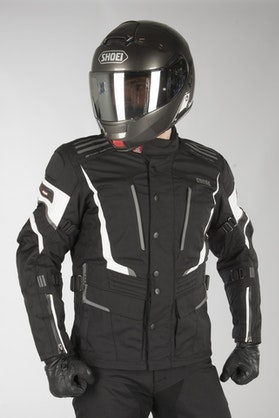 IXS Tour Powells-ST Jacket Black-White