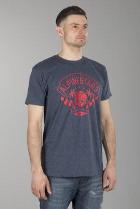 T-Shirt Alpinestars Firts Order Navy