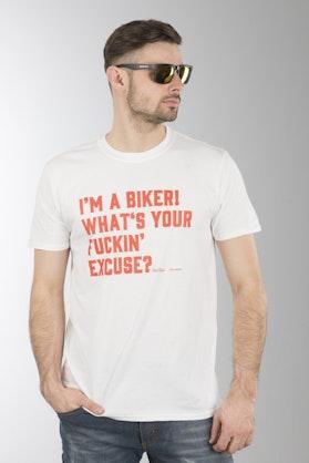 Koszulka XLMoto Excuse Biała
