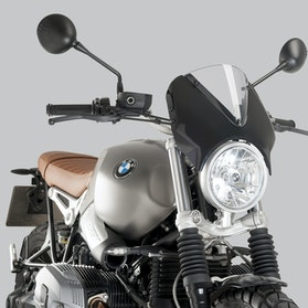 Owiewka Puig Retrovision BMW Czarna-Przydymiona