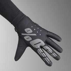 100% Brisker Gloves Black