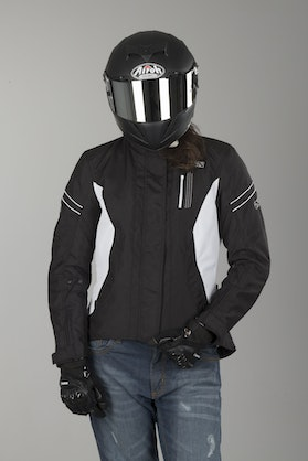 IXS Alana Evo Women's Jacket Black-White