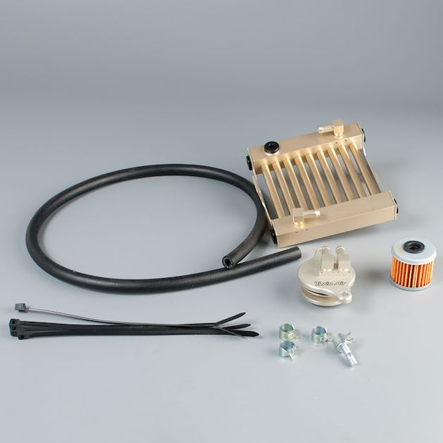 Twin Air Oil Cooling System