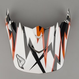 Acerbis Masterburner Helmet Shield Black & Orange