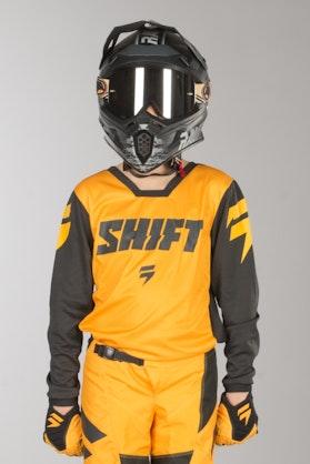 Shift Youth Whit3 Ninety Seven MX Jersey Yellow MX 18