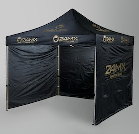 24MX Champions Edition Race Tent 3x3m Easy-UP WITH WALLS