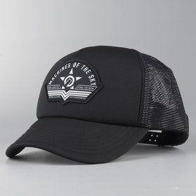 Czapka Unit Flight Trucker Czarna