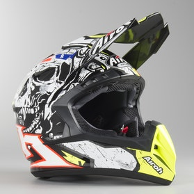 Airoh Switch Pirate MX Helmet Gloss