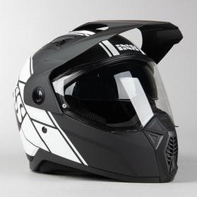 Adventure Helma IXS 208 2.0 Matně Černo-Bílá