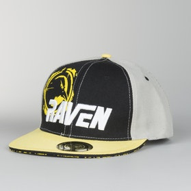 Cap Raven Racing, Sort/Gul