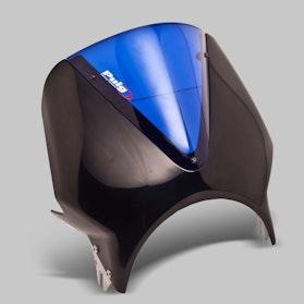 Owiewka Puig Vision Honda Czarno-Niebieska