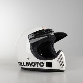 Bell Moto-3 Classic Helmet White