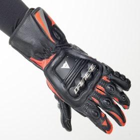 Rękawice Dainese Steel-Pro Czarno-Neonowo-Czerwone