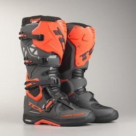 Buty Motocyklowe TCX Comp Evo 2 Michelin Ciemnozielono-Pomarańczowe