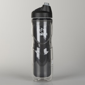 USWE Head Bump 600 Water Bottle Ice Team Black
