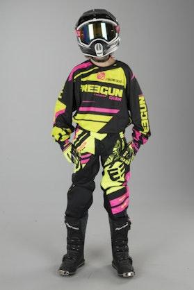 Freegun Nerve Youth Cross Clothing Kit Neon Yellow-Pink