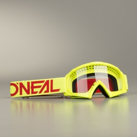 O'Neal B 10 Solid Youth MX Goggles HIViz Red