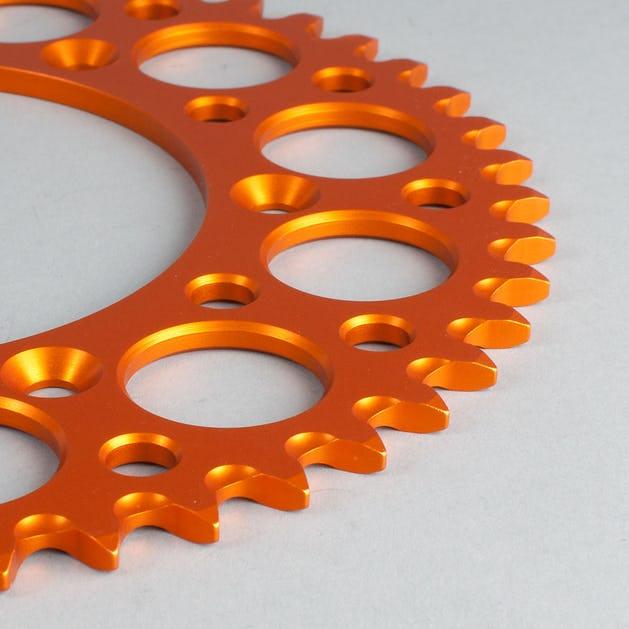 Renthal Rear Sprocket Orange