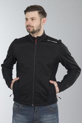 Spidi Plus Evo Softshell Jacket Black