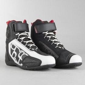 IXS Sport RS-400 Short Shoes Black-White