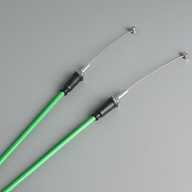 Venhill Featherlight Throttle Cable Green