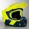 Kask Cross Scott 350 EVO Team ECE Żółto-Niebieski