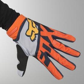 Motokrosové Rukavice Fox Dirtpaw Sayak  Oranžové MX 18