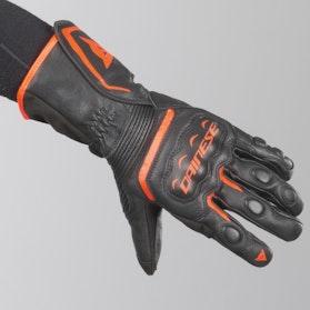 Rękawice Dainese Assen VR46 Czarno-Czerwone