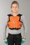 Leatt 4.5 Junior Kid's Protection Jacket Orange-White